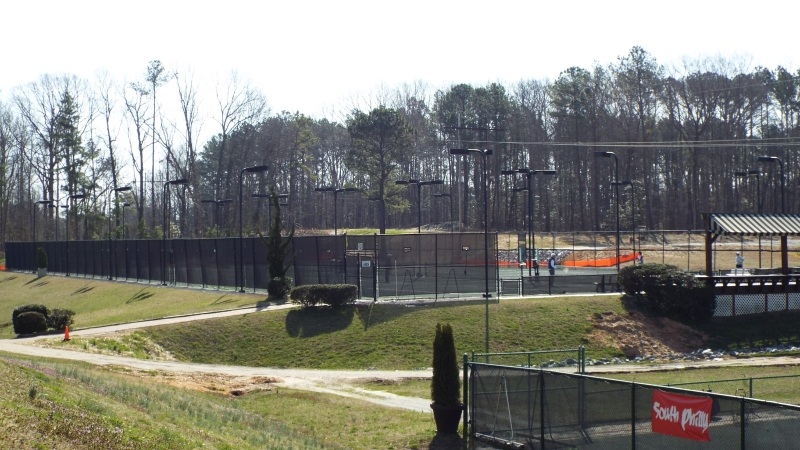 Raleigh Racquet Club offers 21 soft courts and 8 hard courts.